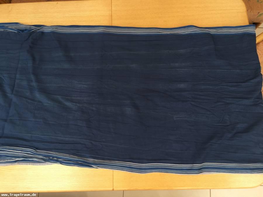 2nd hand Tragetuch -Korfu- (blau) von Dolcino (4,6 x 0,7m)