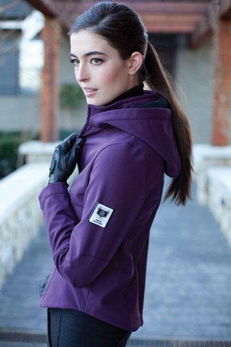 The Hunter Jacket ***Größe S, plum (lila) ***