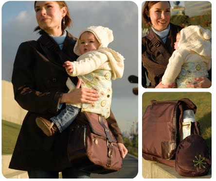 Sidekick - geniale 2in1 Tasche mit integrierter Tragehilfe :-) (braun)