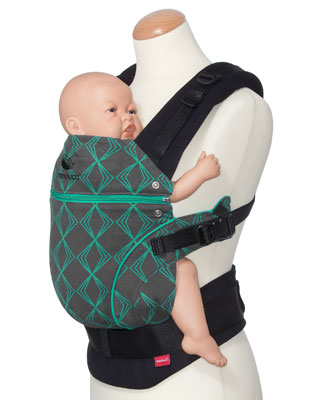 Manduca Baby Carrier *Limited Edition True Emerald*