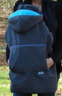 Tivoli Couture Mommy's Hug Cover 3ín1 *anthrazit.blau*